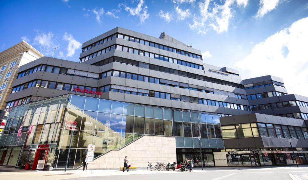 Die Fackelpassage Fackelcenter in Kaiserslautern. 28.09.2015  Foto: Reiner Voß / view