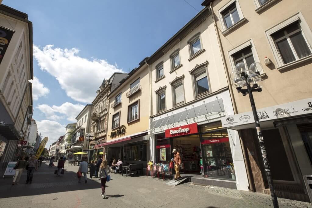 Kaiserslautern, Ein Euro Laden Marktstraße. 22.05.2017  Foto: Reiner Voß / view
